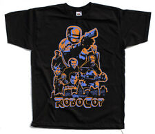 Robocop, movie poster, T SHIRT YELLOW ORANGE KHAKI WHITE all sizes S to 5XL