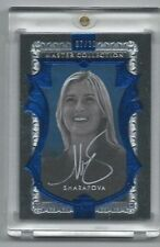 2014 ALL TIME GREAT MASTER COLLECTION BLUE MARIA SHARAPOVA TENNIS AUTO #07/20