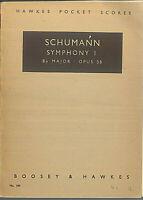 Taschenpartitur Robert Schumann: Sinfonie Nr. 1 op. 38