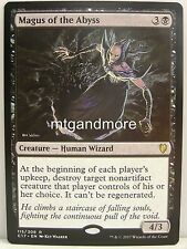 Magic comandante 2017 - 1x Magus of the Abyss-Rare