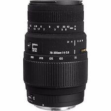 f/4 Telephoto Lenses for Canon SLR Cameras