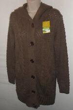 DEFACTO long cardigan with hood UK 10  12 US 8 10