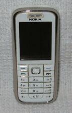 Nokia 6233-Weiss (orange) Handy guter Zustand
