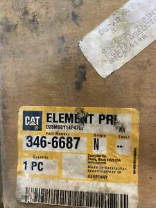 CATERPILLAR CAT Air Cleaner Filter Element - Multiple Applications - 346-6687