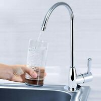 1/4'' Chrome Drinking Water Filter Faucet Reverse Osmosis Sink Kitchen Tap