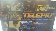 DECODER VINTAGE TELEPIU' NUOVO COLLEZIONE SEGNALE TERRESTRE ANALOGICO VINTAGE