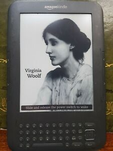 Amazon Kindle 3rd Generation, Fully Working. Graphite, Excellent Condition