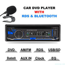 Car Radio Stereo DVD CD Player AUX-IN MP3 USB SD FM In-Dash LCD Display 1 Din BT