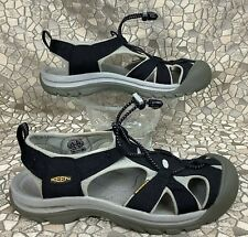 KEEN VENICE H2 Black Waterproof River Hiking Sport Sandal Shoe 40 women 9.5