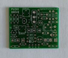 Plexi Drive Marshall in a box style Overdrive PCB. DIY Guitar FREE UK P&P