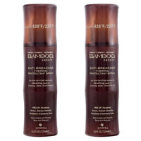 2 PACK Alterna Bamboo Smooth Anti-Breakage Thermal Protectant Unisex Spray 4.2oz
