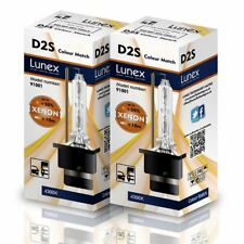 2 x D2S LUNEX 4300K XENON LÁMPARAS BOMBILLA compatible 85122 66040 66240 53500