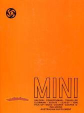 SHOP MANUAL MINI SERVICE REPAIR BOOK COOPER AUSTIN MORRIS CLUBMAN COUNTRYMAN