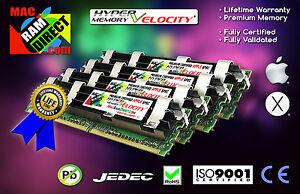 Mac Pro 16GB DDR2 800 PC2 6400 ECC RAM Memory Kit 4X 4GB Fully Buffered FBDIMMs