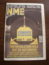NME 1993 MAY 8 MEGA CITY FOUR DODGY RUN DMC BLUR TEENAGE FANCLUB NEW MODEL ARMY