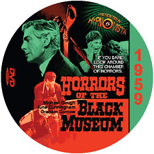 "Horrors of the Black Museum (1959) Sci-Fi and Horror NR CULT ""B"" Movie DVD"