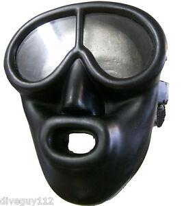Full Face Scuba Diving Dive Mask BK/BK FFM FM61