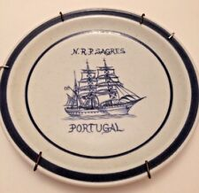 NRP Sagres Collector Plate ALFE Portugal Portugese Navy Tall Ship Marine