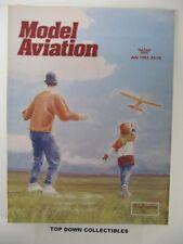 Model Aviation Magazine   July  1993    Assault On Paintball Hill