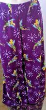 Disney Tinkerbell Women's Pajama Fleece  Sleep Lounge Pants Purple Size 2X