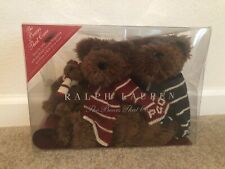 Polo Ralph Lauren Bears that Care Three Teddy Bear Set With Sled