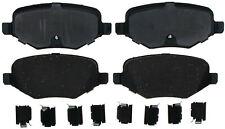 Disc Brake Pad Set-Ceramic Disc Brake Pad Rear ACDelco Pro Brakes 17D1377CH