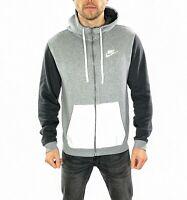Men's Nike Spell Out Hoodie In Grey Size Medium