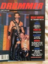 Vintage DRUMMER MAGAZINE  Issue 135  1989