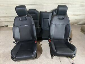 2008 2009 PONTIAC G8 GT EBONY BLACK LEATHER SEATS