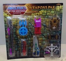 He-Man MOTU Classics Ultimate Battleground Weapons Pak New Masters Universe