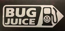 BUG Juice VW Volkswagen Beetle Pick Your Color  body Gas Tank Sticker Decal