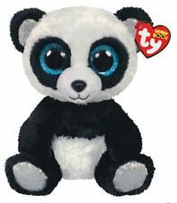 Brand New TY Beanie Boo Regular Bamboo the Panda Soft Toy