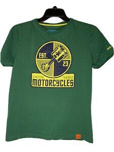 BMW Motorrad T-Shirt Mens Medium Motorcycle Green