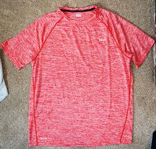 Hind RUN Running NEON RED T-SHIRT XL Polyester WORKOUT