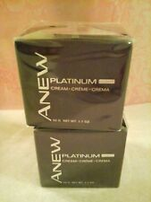 AVON ANEW Platinum Night Cream - TWO!  SEALED!!