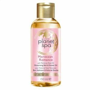 10 :: Avon Planet Spa Moroccan Romance Bath & Shower Oil - 150ml Joblots