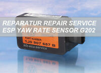Reparatur Drehratensensor 1J0907657B G202 VW Audi TT A3 A2 Golf 4 Bora Polo Lupo