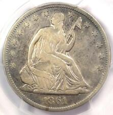 1861-O CSA Obverse Seated Liberty Half Dollar 50C FS-401 WB-102 - PCGS VF Detail
