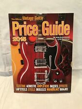 More details for vgc the official vintage guitar magazine price guide 2015