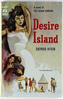 Desire Island by Shepard Rifkin 1960 Ace Paperback D-444