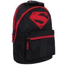 Superman Rebirth Backpack New BIOWORD