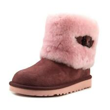 Suede Boots for Girls Buckle