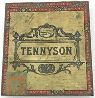 Vintage Lord Tennyson Panetelas Cigar Tobacco Tin 241 Ohio Mazer Cressman