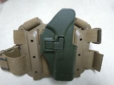 BLACKHAWK HOLSTER GLOCK 17 19 22 23 31 32 36 Right SERPA DROP LEG Green