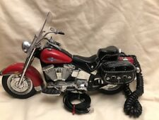 """Harley Davidson Corded Telephone Vintage Softail Used """"AS IS""""Parts Or DECORATION"""