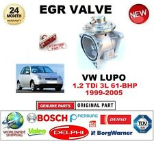 FOR VW LUPO 1.2 TDi 3L 61-BHP 1999-2005 Pneumatic EGR VALVE with GASKETS/SEALS