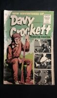 "Davy Crockett #3 (1955) VG ""Frontier Fighter"" Charlton Comics *"