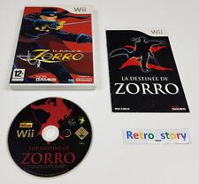 Nintendo Wii La Destinée De Zorro PAL
