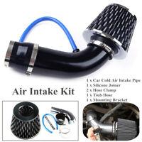 "Car Alloy Universal Air Intake Kit Pipe Diameter 3""+Cold Air Intake Filter+Clamp"