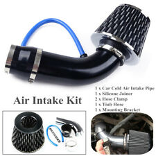 "Car Alloy Universal Air Intake Kit Pipe Diameter 3""+Cold Air Intake Filter+Clamp"